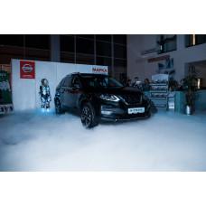 Pandora на презентации обновлённого Nissan X-Trail